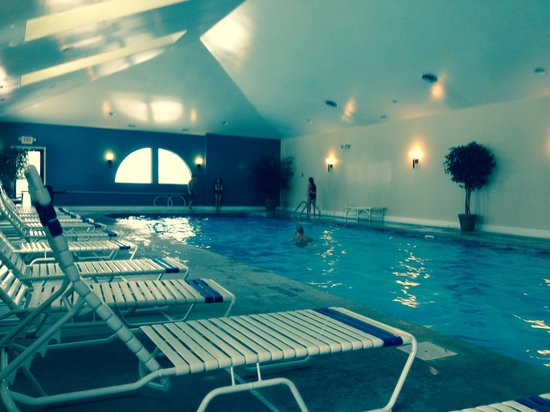 The Inn at St. Ives: Indoor pool