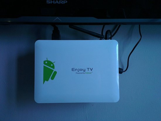 Fragrance Hotel - Ruby: Close up of the android box
