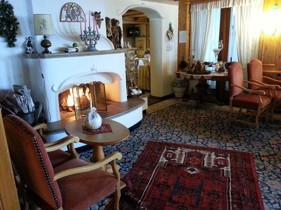 Hotel Lorenzetti: il camino