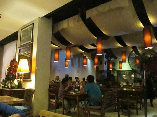 Warung Eropa: The indoor restaurant