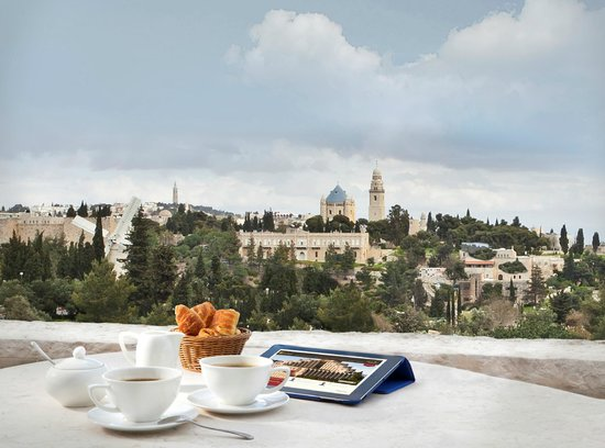 The Inbal Jerusalem: Executive Lounge View