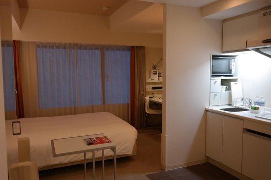 Citadines Karasuma-Gojo Kyoto: View of the room