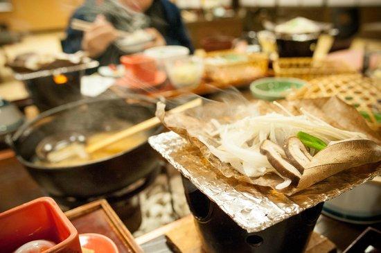 Hodakaso Yamanoiori: breakfast