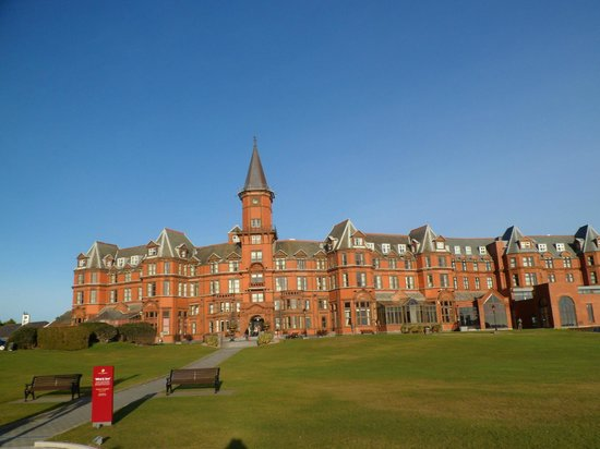 View From Hotel Picture Of Slieve Donard Resort And Spa Newcastle Tripadvisor