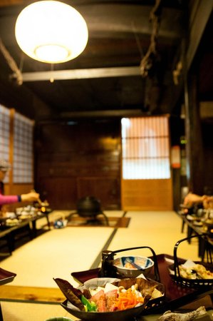 Kanjiya: dining hall