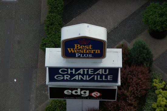 Best Western Plus Chateau Granville: BEST WESTERN PLUS - Uitzicht kamer