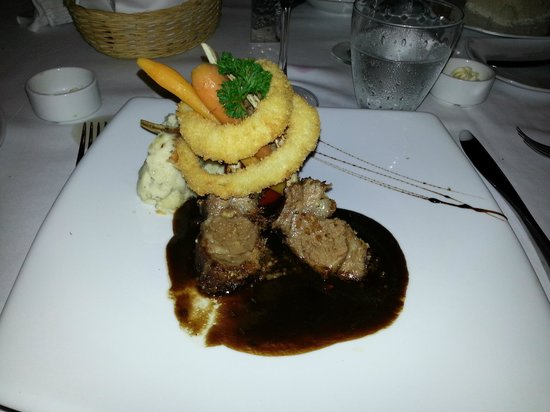 Cape Nidhra: Australian lamb at Rocks restaurant
