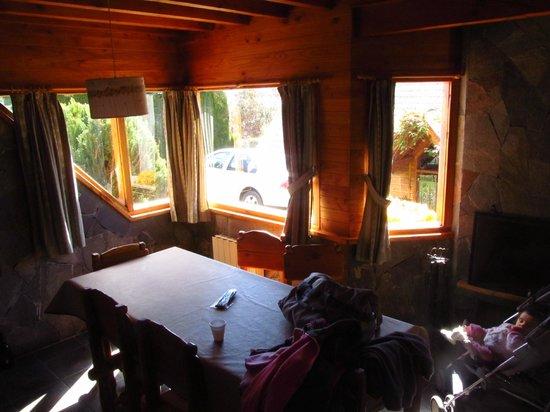 Las Marias del Nahuel : Interior de las cabañas