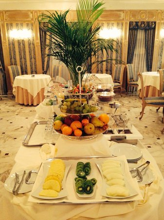 Grand Hotel Des Bains: Colazione
