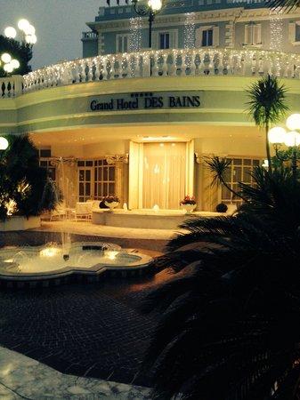 Grand Hotel Des Bains: Ingresso