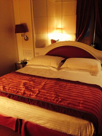 Grand Hotel Des Bains: Letto king Size