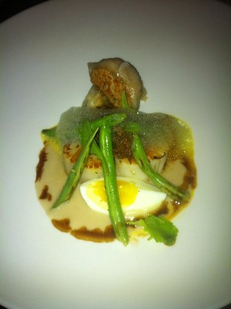 Indigo: Scallops and Dumplings
