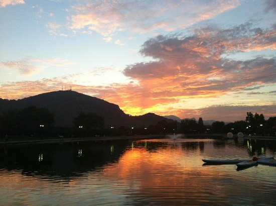 Club MAC Alcudia: View over lake