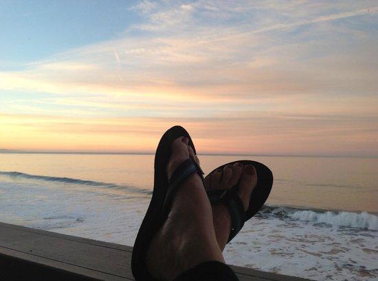 Cypress Inn on Miramar Beach : relaxing at sunrise