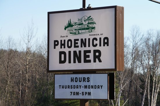Phoenicia Diner : Great diner