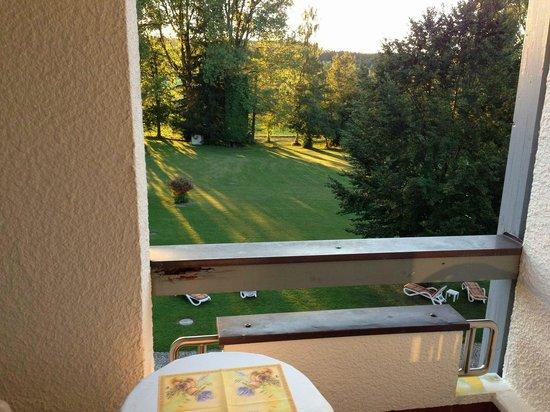 Hotel Sonnengarten: Ausblick auf den Garten