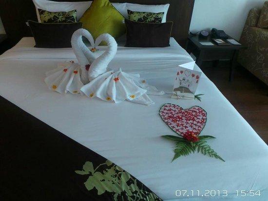 The Elements Krabi Resort: honeymoon arrangement