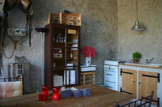 La Roseraie-Drôme : Cuisine d'été