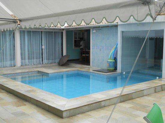 Pousada Velas Buzios : Vista do quarto para a piscina