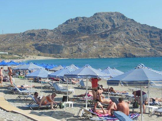 Hotel Alianthos Garden: Plakias strand