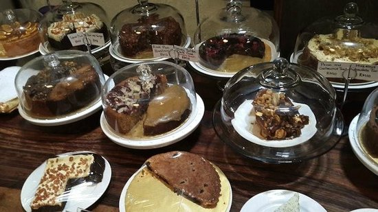 Some of the cake selection at China House, Penang