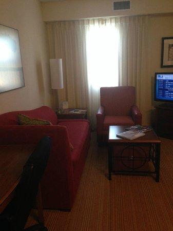 Residence Inn Miami Aventura Mall: Sala de estar