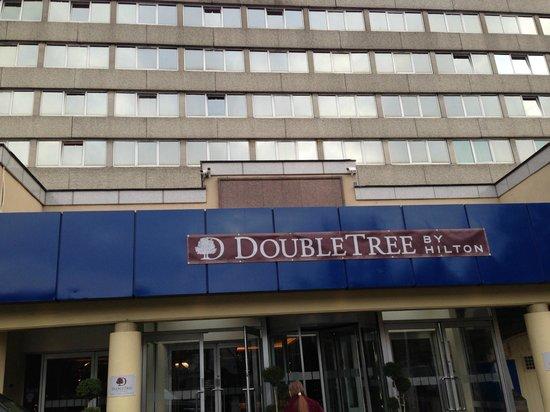 Clayton Hotel Burlington Road: Front of the DT Dublin