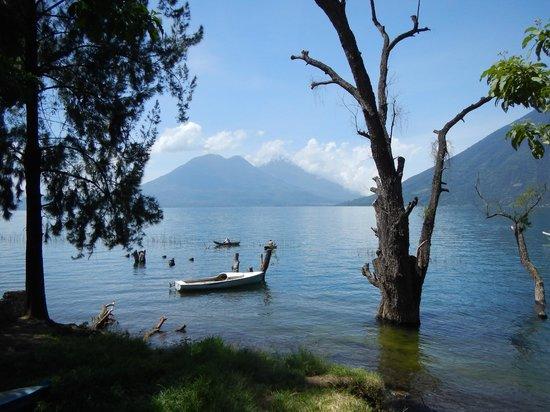 Jardines del Lago: View from San Marcos La Laguna