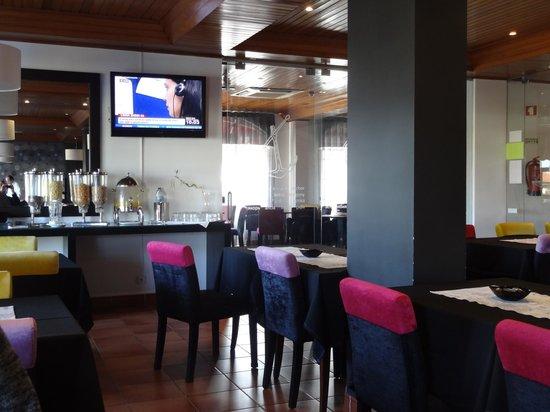 Hotel Caldas Internacional : Sala de Pequeno almoço