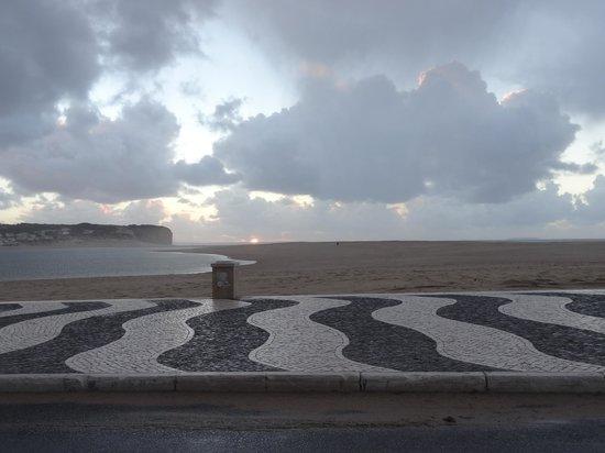 Hotel Caldas Internacional : Praia de Foz do arelho