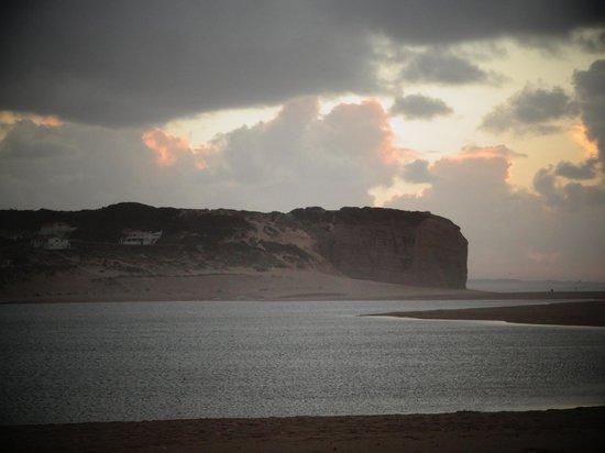Hotel Caldas Internacional : Por de Sol em Foz do Arelho - Praia