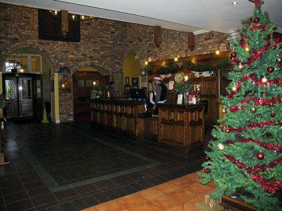 Celtic Royal Hotel: Reception at Christmas