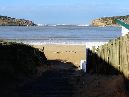 Hotel Caldas Internacional: Praia próxima em S. Martinho do Porto