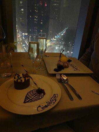 Robert : Great anniversary dinner