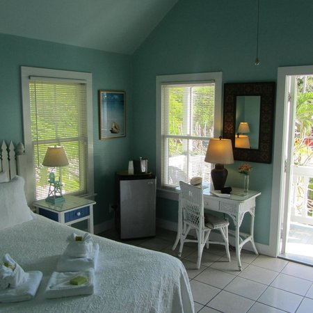 The Conch House Heritage Inn: Marquesa Room in the Poolside Cottage