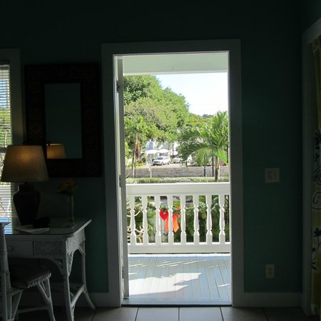 The Conch House Heritage Inn: View from the Marquesa Room