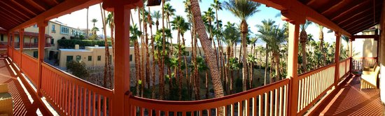 The Ranch at Death Valley: Magnificent, spring-fed oasis garden on the grounds of the Furnace Creek Inn.
