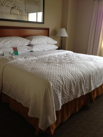 Embassy Suites by Hilton Louisville : Bed