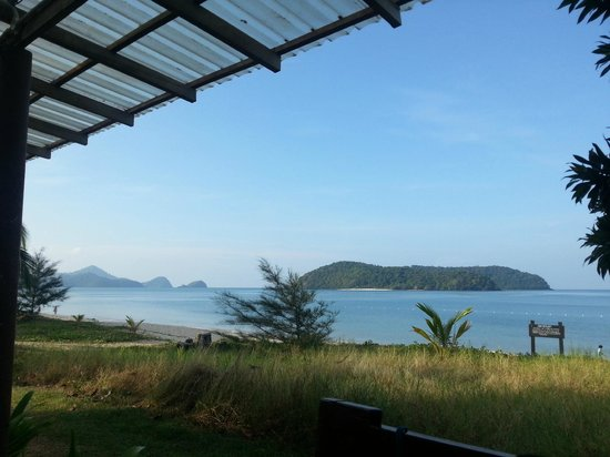The Frangipani Langkawi Resort & Spa: View from breakfast table