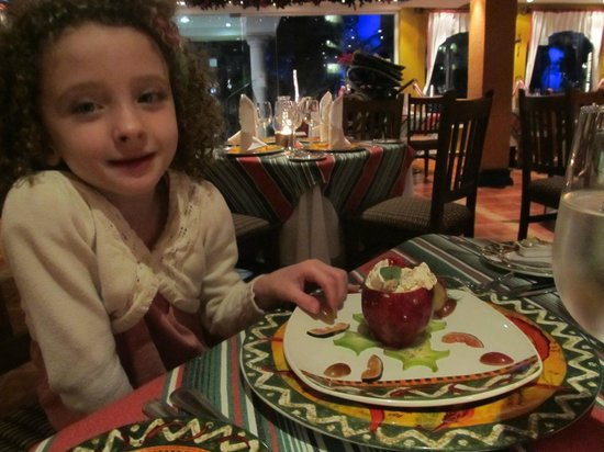 Occidental Costa Cancun: Christmas Eve dinner menu - it was delicious