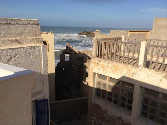 Dar Maya: Seaview from the terrace