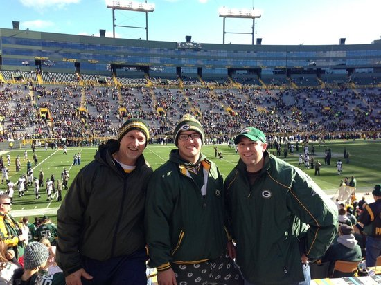 Lambeau Field: 1st Packers Game