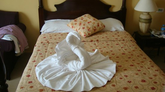 IBEROSTAR Grand Hotel Trinidad: towel art!