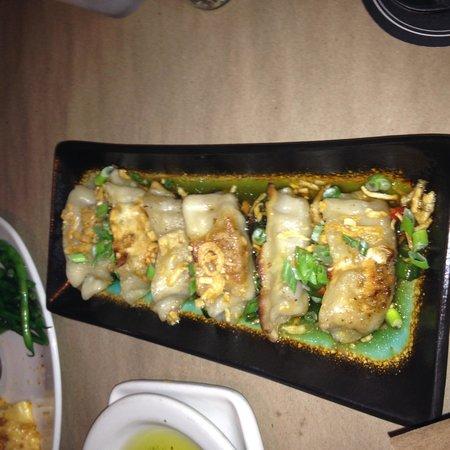 Bonefish Grill: Soy ginger Kobe beef dumplings