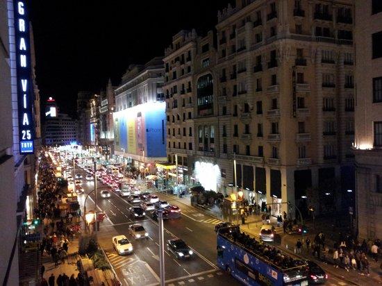 Praktik Metropol: view from hotel