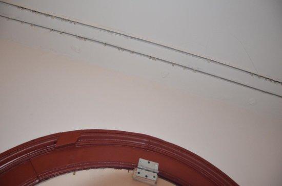 Marnix Hotel: Pas de rideaux