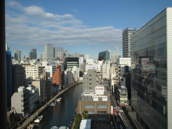 Dormy Inn Tokyo Hatchobori: 亀島川の眺め