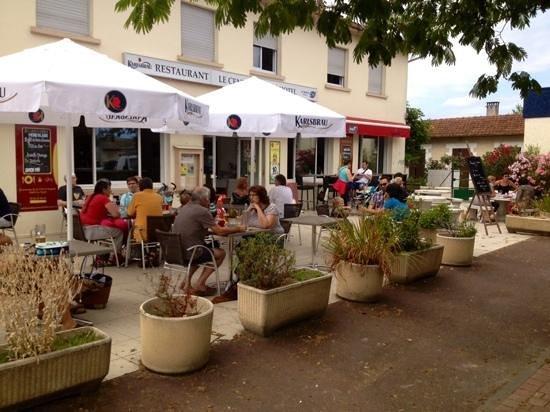 le central cafe au Teich