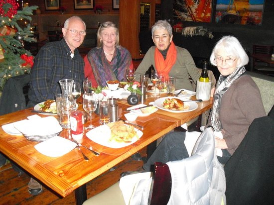 A family reunion at the Bridgewater Bistro