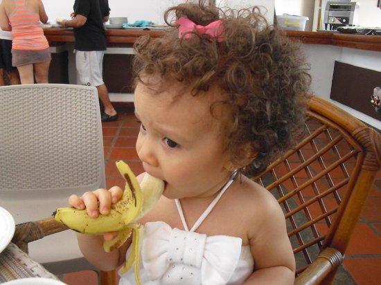 LD Palm Beach : desayunando